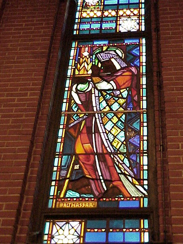 Stained Glass Window, Tulsa