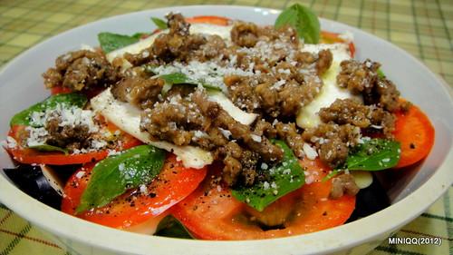 20120714 焗烤茄子 Gratin Eggplant