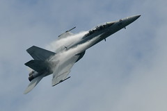 aviation, airplane, vehicle, boeing f/a-18e/f super hornet, fighter aircraft, jet aircraft, air force, air show,