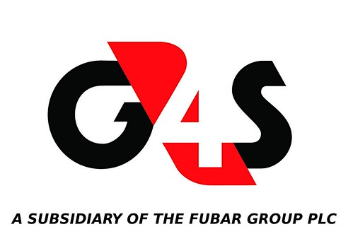 G4S is a subsidiary of the FUBAR Group PLC by Teacher Dude's BBQ