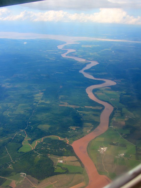 Shubenacadie River and Bay of Fundy