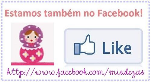 A gente se encontra no facebook! by miudezas_miudezas