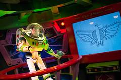 Buzz Lightyear before the Lazer Blast