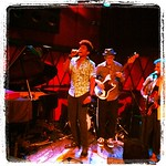 JC Brooks and @theUptownSound WFUV broadcast from Rockwood Music Hall