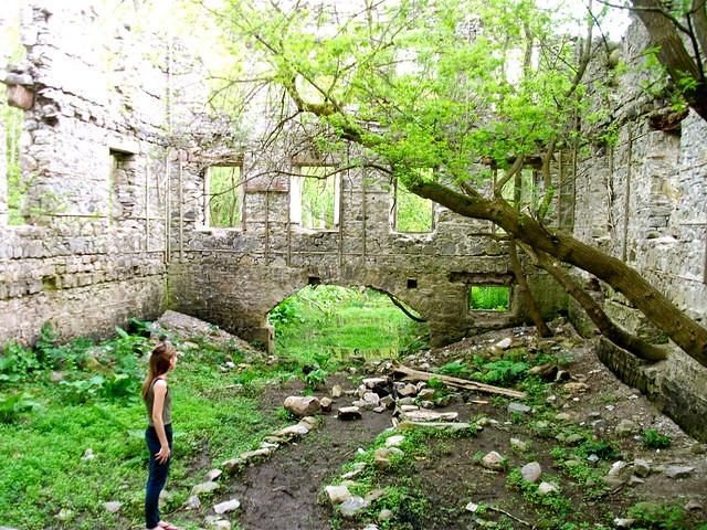 The Old German Mill Ruins near Hamilton, Ontario