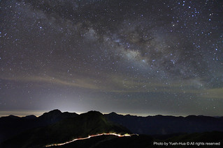The Milky Way Galaxy @ Hehuan Main Peak (3417M), Nantou county │ July 14, 2012