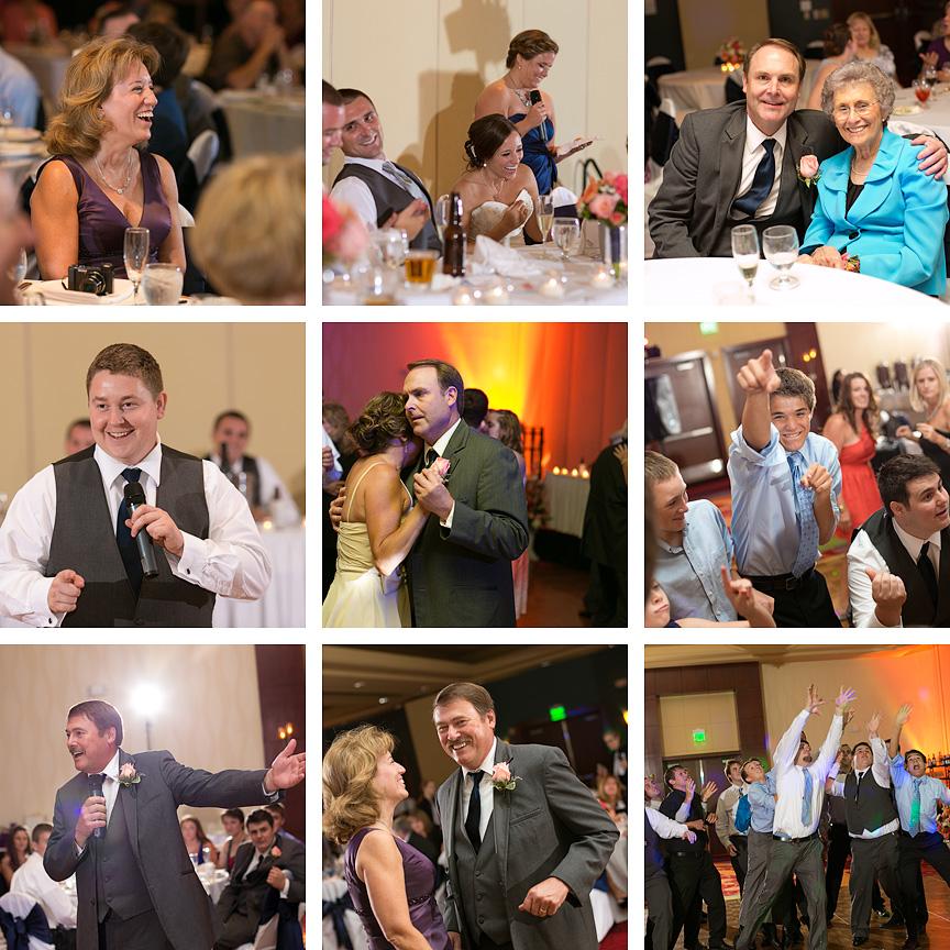 Overland Park Marriott wedding reception