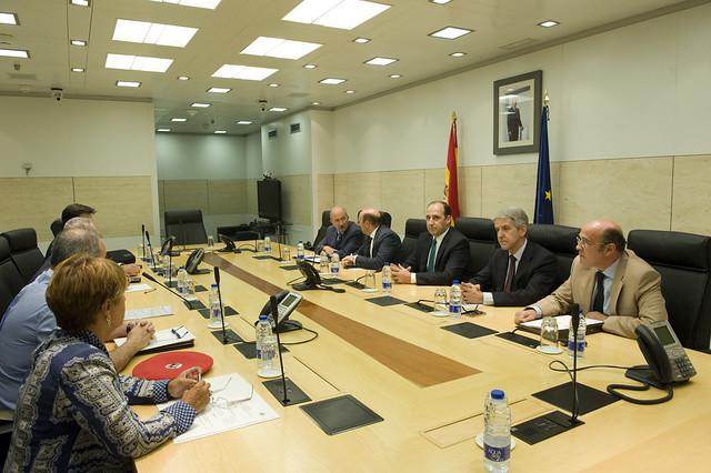 La junta de seguridad cierra el acuerdo entre el for Direccion ministerio del interior madrid