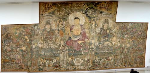 MMA 2012 - China - Yuan - c 1319 - Buddha of Medicine Mural - enhanced panorama