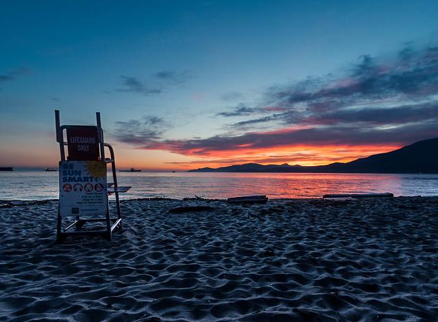 Third Beach Sunset