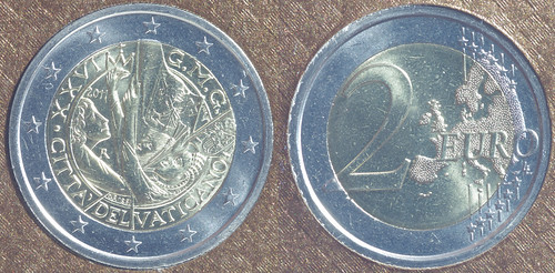 2 Euros Vaticano 2011