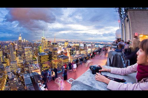 A Photographer's Favorite: The Top of the Rock