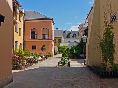 K17 Zamosc courtyard