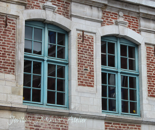 windows in Lille (France)
