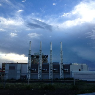 Power Plant Clouds