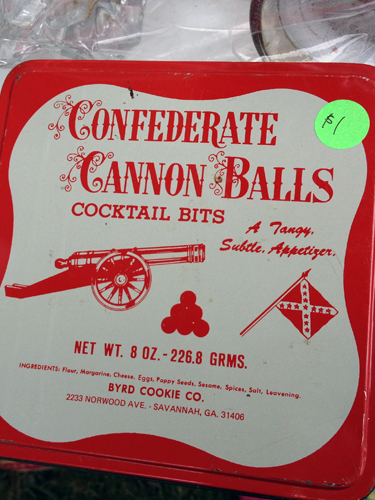 Confederate Cannon Balls