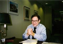 בארי בן זאב - במשרד סיגנצ'ר בניו יורק
