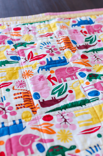 wonky log cabin quilt backing