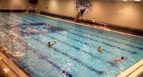 Air Force indoor water polo pool
