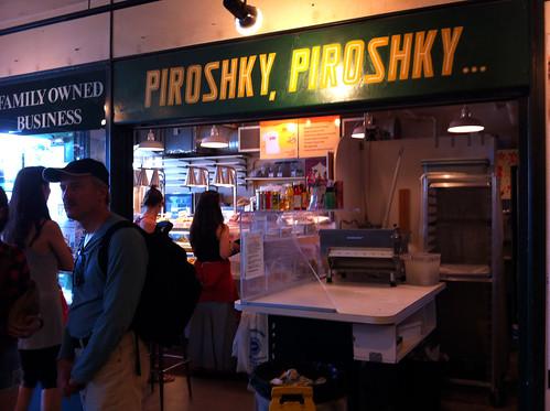 Pike Place Market - Piroshky, Piroshky
