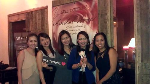 Sophie,Nikki,Angela,Jheng & Me @ Chocol8 Fire