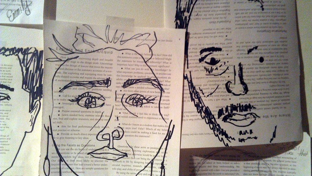 Leonardo Self Portraits