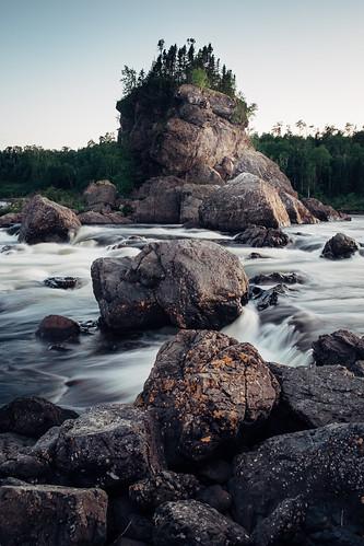 newfoundland canada fujix grandfallswindsor river