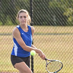 LEHS Girls Tennis vs Ridge View - 9-1-16