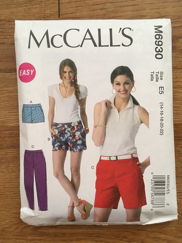 McCall's 6930 Shorts