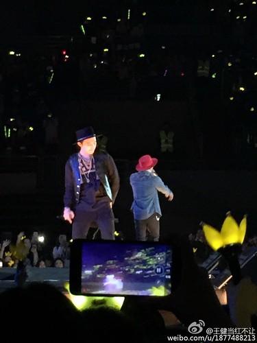 G-Dragon, Seung Ri & Tae Yang - V.I.P GATHERING in Harbin - 21mar2015 - 王健当红不让 - 04