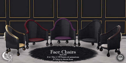 NeverWish  Face Chairs Multi