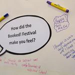 Schoolchildren give their feedback on the Festival | © Amy Muir