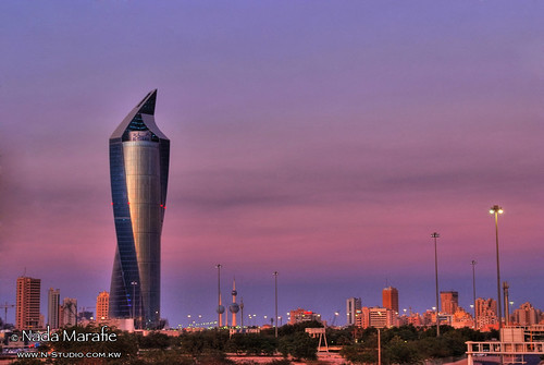 Al-Tijaria Tower Sunset
