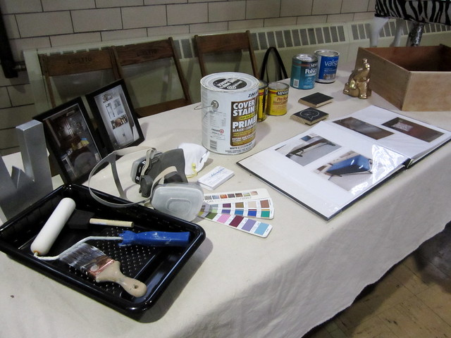 Housing Fair Display Table