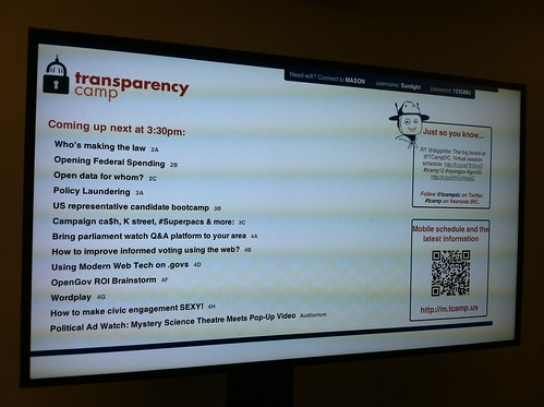 Transparency Camp 2012