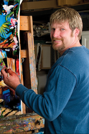 Steve Baron Art Show