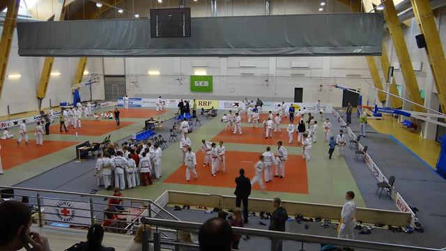 Salė - Tarptautinis Dziudo Turnyras - Saldus, Latvija