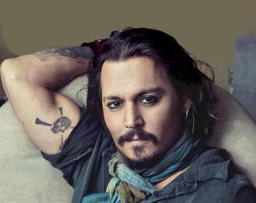 tatuaje-calavera-Johnny-Depp