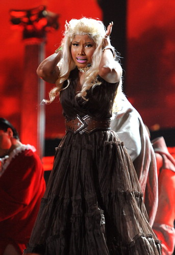 Nicki Minaj 2012 GRAMMY Performance: Roman Holiday 6