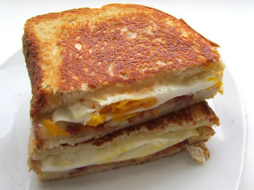 Grilled Cheesy Breakfast