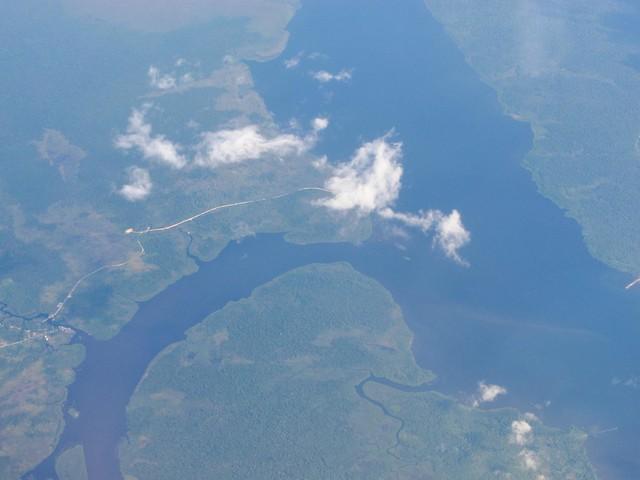 Map Natuna Island Indonesia