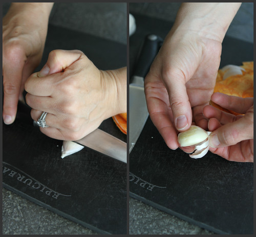 How to: Peel and Mince Garlic 1