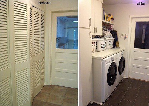 Utility room - laundry side