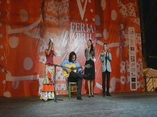video 01 Swanny Leda y al toque Yumiel Rascón V Feria Abril Las Palmas de Gran Canaria 2012