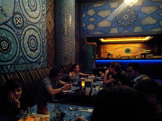 Repas oriental à Райхона