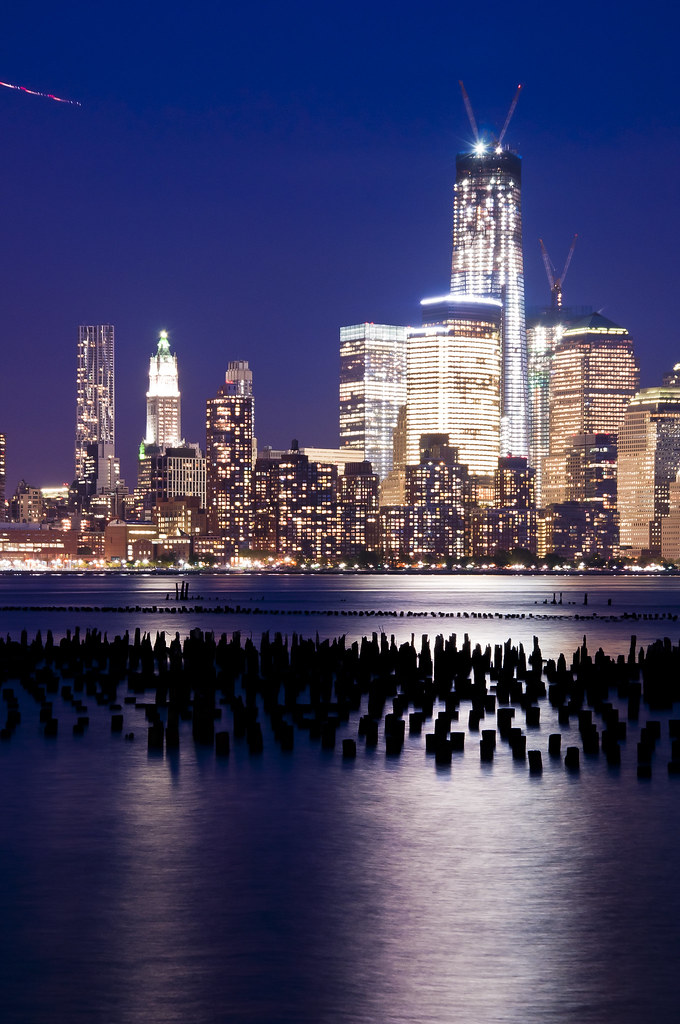 Blue hour Freedom Tower