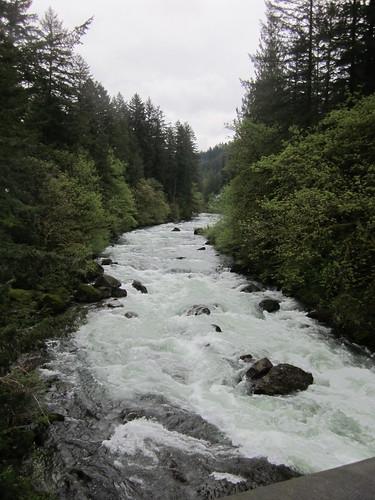 Lucia Falls upstream