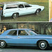 1971 Ford Custom 500 4 Door Sedan and Ranch Wagon