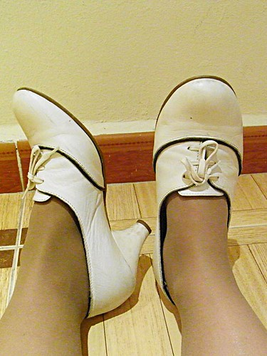 zapatos blancos new look