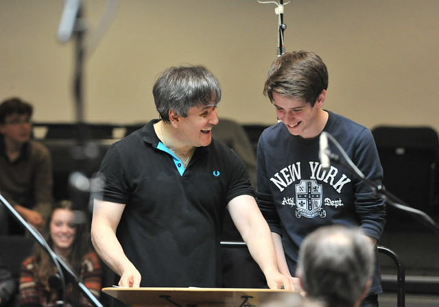 Working with Antonio Pappano